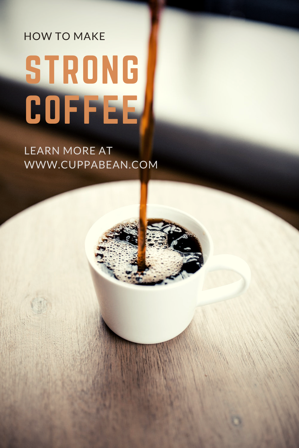 how to make strong coffee guide