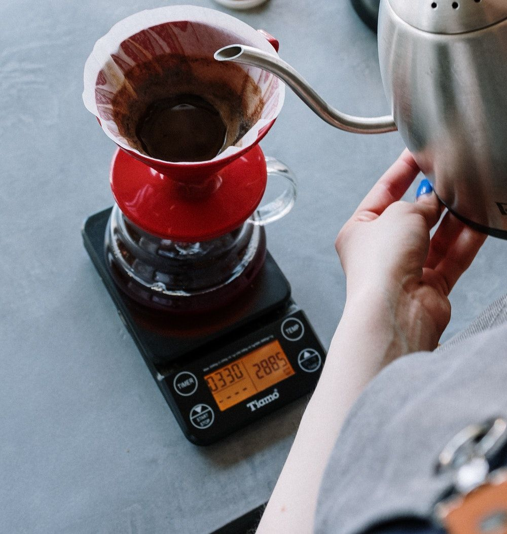 chemex on a scale